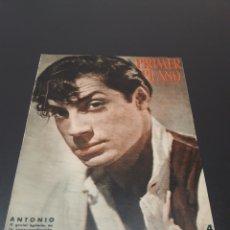 Cine: PRIMER PLANO N° 590. 3 DE FEBRERO 1952. ANTONIO, AVA GARDNER.. Lote 192340858
