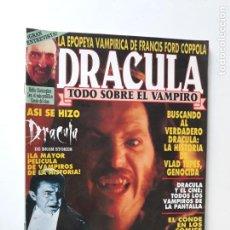 Cine: DRACULA - TODO SOBRE EL VAMPIRO - NÚMERO ÚNICO - ZINCO. Lote 192347437