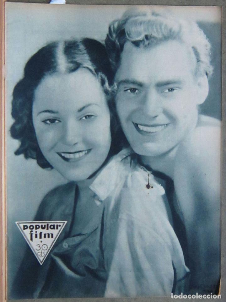 ZZ64D TARZAN WEISSMULLER DOLORES DEL RIO REVISTA ESPAÑOLA POPULAR FILM DICIEMBRE 1932 Nº 330330 (Cine - Revistas - Popular film)