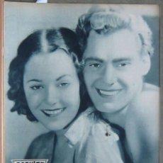 Cine: ZZ64D TARZAN WEISSMULLER DOLORES DEL RIO REVISTA ESPAÑOLA POPULAR FILM DICIEMBRE 1932 Nº 330330. Lote 192486268