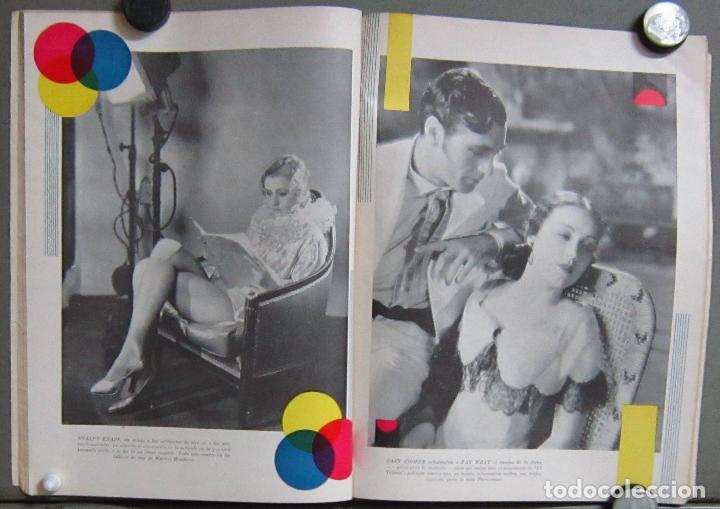 Cine: ZZ65D DOLORES DEL RIO COOPER FAY WRAY REVISTA AMERICANA en ESPAÑOL CINE MUNDIAL AGOSTO 1930 Nº 8 - Foto 2 - 192487605