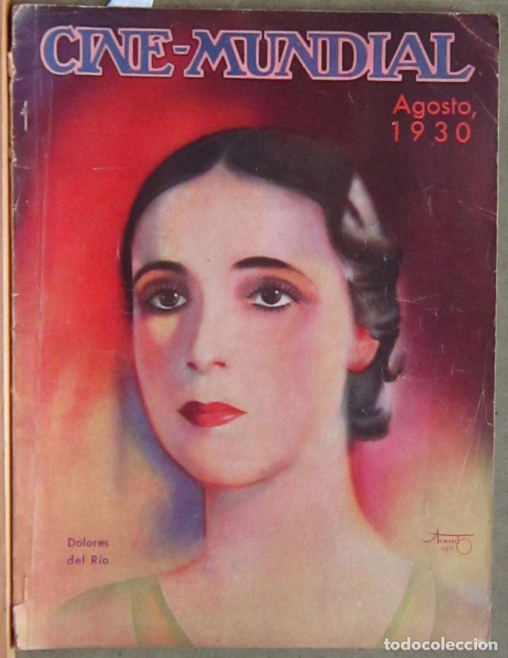 ZZ65D DOLORES DEL RIO COOPER FAY WRAY REVISTA AMERICANA EN ESPAÑOL CINE MUNDIAL AGOSTO 1930 Nº 8 (Cine - Revistas - Cine Mundial)