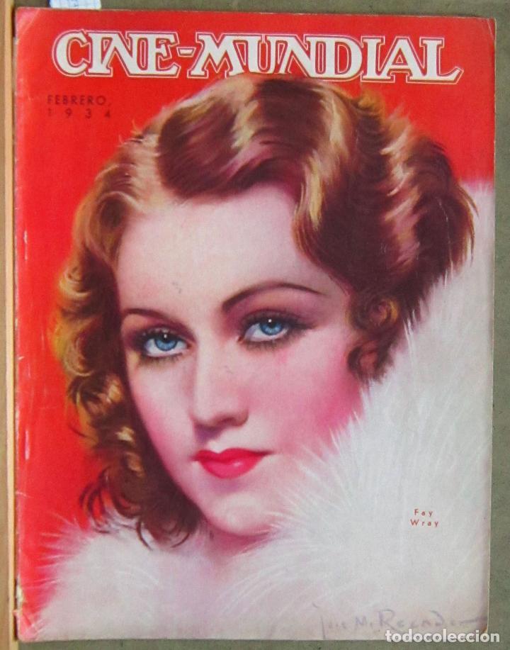 ZZ67D FAY WRAY VELEZ MACDONALD REVISTA AMERICANA EN ESPAÑOL CINE MUNDIAL FEBRERO 1934 Nº 2 VOL XIX (Cine - Revistas - Cine Mundial)