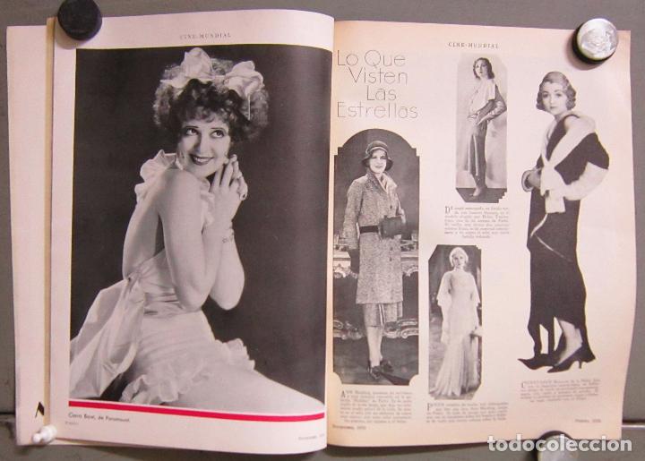 Cine: ZZ70D MAURICE CHEVALIER CLARA BOW REVISTA AMERICANA ESPAÑOL CINE MUNDIAL NOVIEMBRE 1930 Nº 11 VOL XV - Foto 2 - 192490972