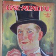 Cine: ZZ70D MAURICE CHEVALIER CLARA BOW REVISTA AMERICANA ESPAÑOL CINE MUNDIAL NOVIEMBRE 1930 Nº 11 VOL XV. Lote 192490972