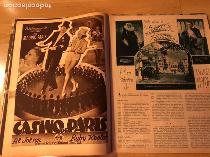 Cine: Revista cinegramas sep 1935 Miriam hopkins katharine hepburn myrna loy Glenda farrell - Foto 5 - 192669250