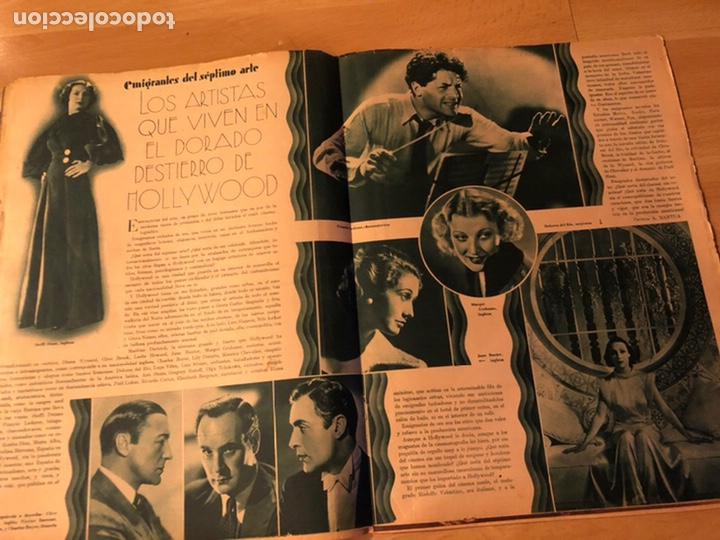Cine: Revista cinegramas sep 1935 Miriam hopkins katharine hepburn myrna loy Glenda farrell - Foto 7 - 192669250