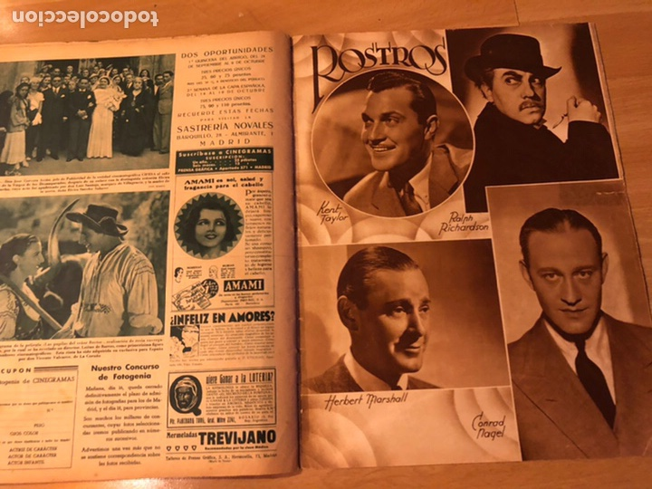 Cine: Revista cinegramas sep 1935 Miriam hopkins katharine hepburn myrna loy Glenda farrell - Foto 9 - 192669250