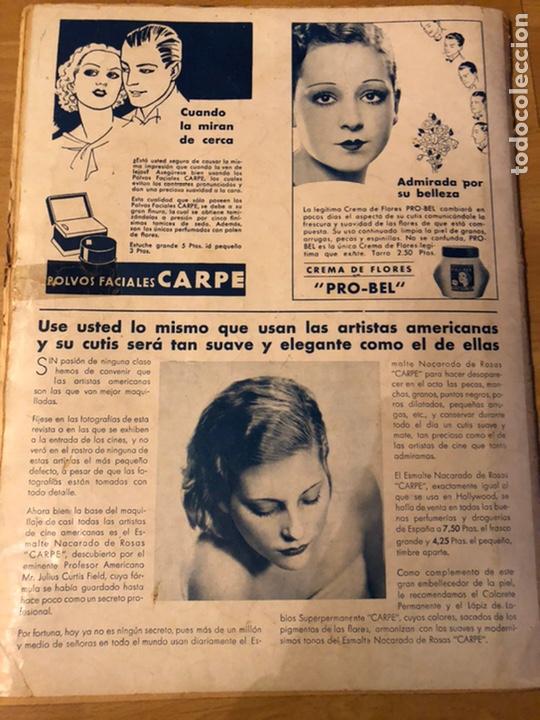 Cine: Revista cinegramas sep 1935 Miriam hopkins katharine hepburn myrna loy Glenda farrell - Foto 11 - 192669250