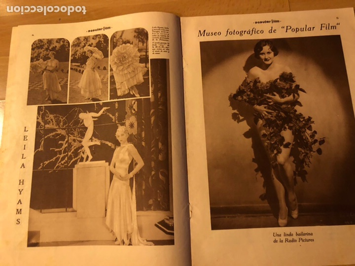 Cine: Revista popular film junio 1930 Leila hyams Fay wray ramon novarro - Foto 2 - 192674390