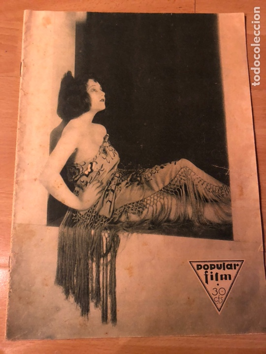 REVISTA POPULAR FILM JUNIO 1930 LEILA HYAMS FAY WRAY RAMON NOVARRO (Cine - Revistas - Popular film)