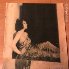 Cine: REVISTA POPULAR FILM JUNIO 1930 LEILA HYAMS FAY WRAY RAMON NOVARRO. Lote 192674390