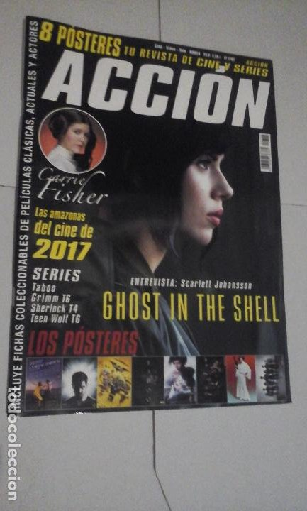 REVISTA ACCIÓN Nº1702 (PORTADA:GHOST IN THE SHELL) ¡¡LEER DESCRIPCION!! (Cine - Revistas - Acción)