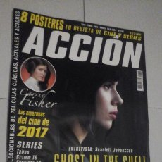 Cine: REVISTA ACCIÓN Nº1702 (PORTADA:GHOST IN THE SHELL) ¡¡LEER DESCRIPCION!!. Lote 192725570