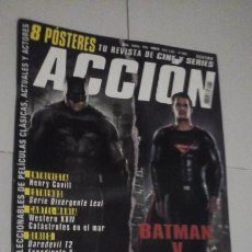 Cine: REVISTA ACCIÓN Nº1603 (PORTADA:BATMAN V SUPERMAN) ¡¡LEER DESCRIPCION!!. Lote 192727318