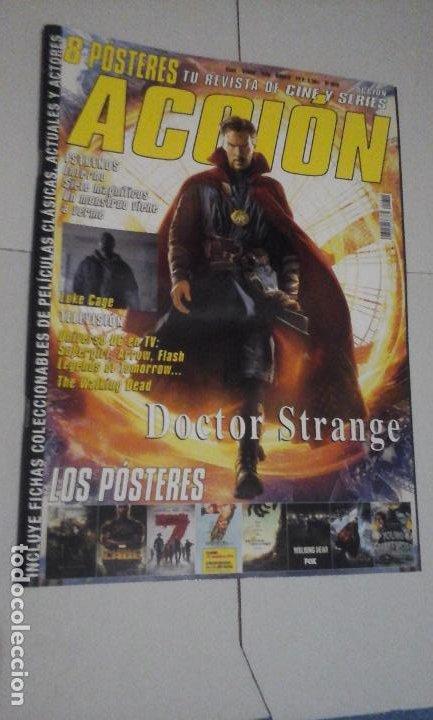 REVISTA ACCIÓN Nº1610 (PORTADA:DOCTOR STRANGE) ¡¡LEER DESCRIPCION!! (Cine - Revistas - Acción)