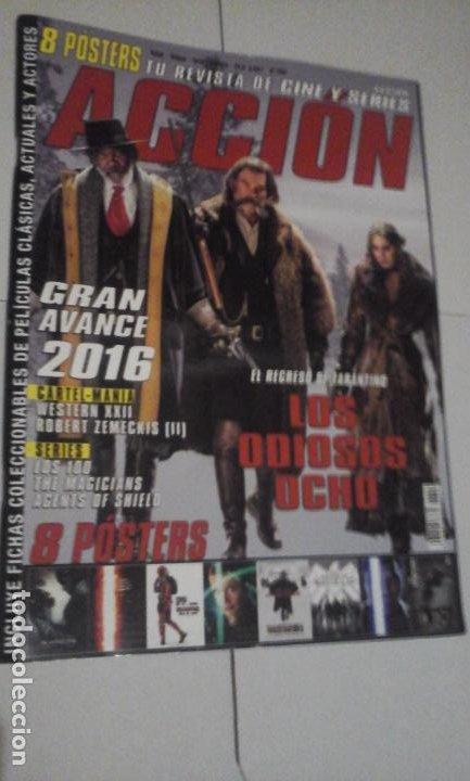 REVISTA ACCIÓN Nº1601 (PORTADA:LOS ODIOSOS OCHO) ¡¡LEER DESCRIPCION!! (Cine - Revistas - Acción)