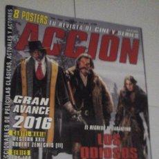 Cine: REVISTA ACCIÓN Nº1601 (PORTADA:LOS ODIOSOS OCHO) ¡¡LEER DESCRIPCION!!. Lote 192733067