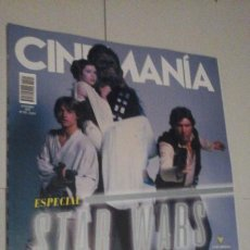 Cine: REVISTA CINEMANIA Nº291 (PORTADA:ESPECIAL STAR WARS) ¡¡LEER DESCRIPCION!!. Lote 192742815