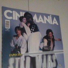 Cine: REVISTA CINEMANIA Nº291 (PORTADA:ESPECIAL STAR WARS) ¡¡LEER DESCRIPCION!!. Lote 192742815