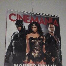 Cinema: REVISTA CINEMANIA Nº246 (PORTADA:BATMAN V SUPERMAN) ¡¡LEER DESCRIPCION!!. Lote 192742981
