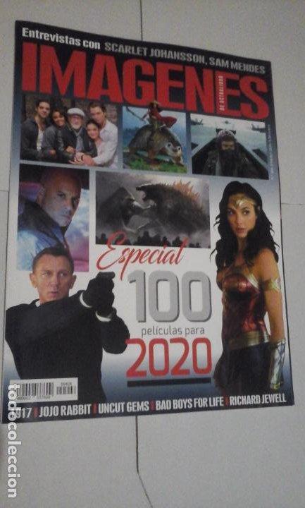 REVISTA IMAGENES Nº408 (PORTADA:ESPECIAL 100 PELICULAS PARA 2020) ¡¡LEER DESCRIPCION!! (Cine - Revistas - Imágenes de la actualidad)