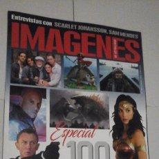 Cine: REVISTA IMAGENES Nº408 (PORTADA:ESPECIAL 100 PELICULAS PARA 2020) ¡¡LEER DESCRIPCION!!. Lote 192744907