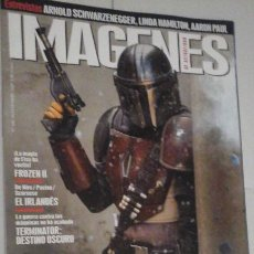 Cine: REVISTA IMAGENES Nº406 (PORTADA:STAR WARS THE MANDALORIAN) ¡¡LEER DESCRIPCION!!. Lote 192745786