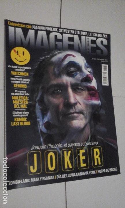 REVISTA IMAGENES Nº405 (PORTADA:JOKER) ¡¡LEER DESCRIPCION!! (Cine - Revistas - Imágenes de la actualidad)