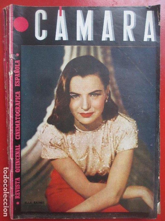 REVISTA CAMARA QUINCENAL CINE ELLA RAINES Nº 49 1945 RC1 (Cine - Revistas - Cámara)