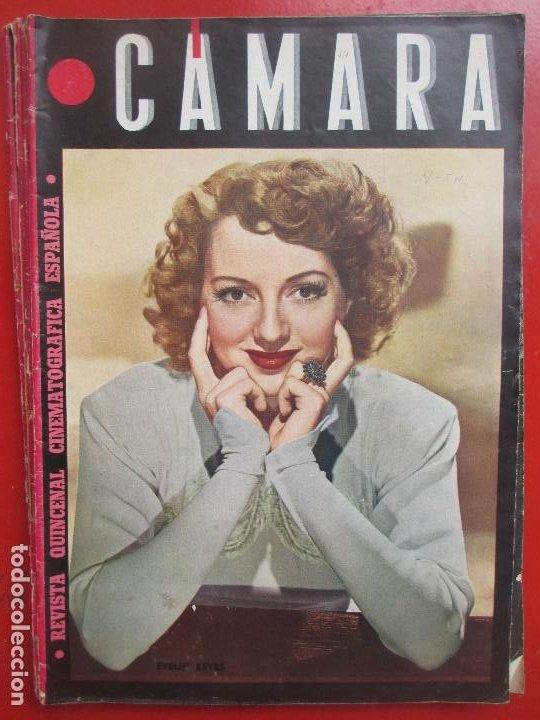 REVISTA CAMARA QUINCENAL CINE EVELYN KEYES Nº 54 1945 RC2 (Cine - Revistas - Cámara)