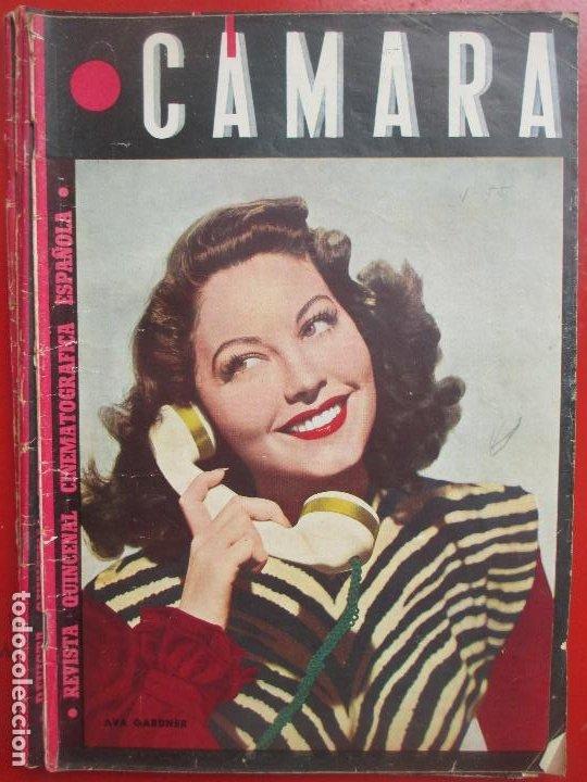 REVISTA CAMARA QUINCENAL CINE AVA GARDNER Nº 55 1945 RC3 (Cine - Revistas - Cámara)