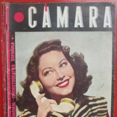 Cine: REVISTA CAMARA QUINCENAL CINE AVA GARDNER Nº 55 1945 RC3. Lote 192798655