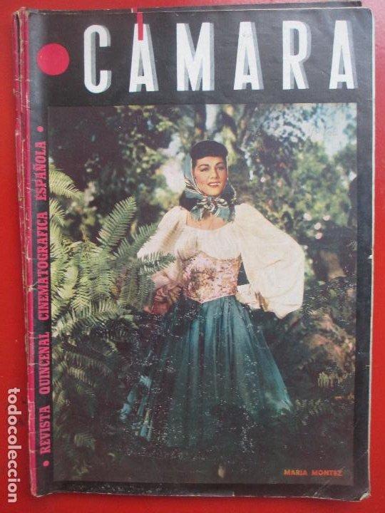 REVISTA CAMARA QUINCENAL CINE MARIA MONTEZ Nº 63 1945 RC4 (Cine - Revistas - Cámara)