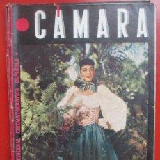 Cine: REVISTA CAMARA QUINCENAL CINE MARIA MONTEZ Nº 63 1945 RC4. Lote 192798745