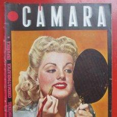 Cine: REVISTA CAMARA QUINCENAL CINE DOLORES MORAN Nº 53 1944 RC6. Lote 192798902