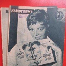 Cine: LOTE 2 REVISTAS RADIOCINEMA CINE Nº 383 Y 385 REVISTA CINE. Lote 192799112