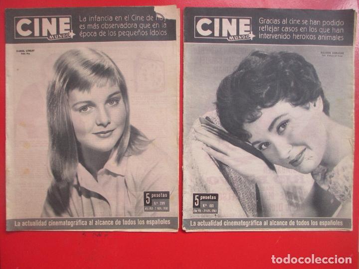 Cine: LOTE 26 REVISTAS CINE MUNDO AÑOS 50 Y 60 REVISTA CINE - Foto 8 - 192799972