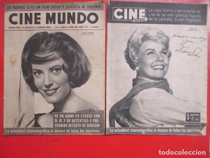 Cine: LOTE 26 REVISTAS CINE MUNDO AÑOS 50 Y 60 REVISTA CINE - Foto 9 - 192799972