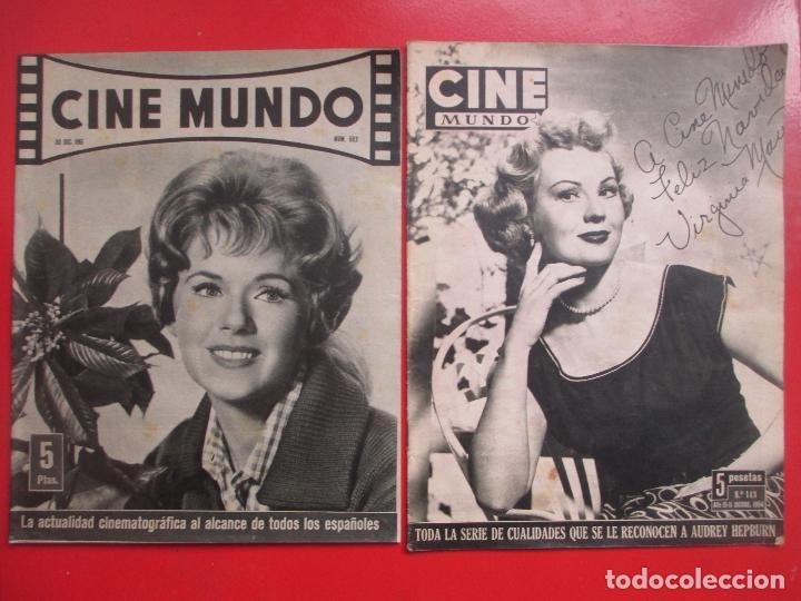 Cine: LOTE 26 REVISTAS CINE MUNDO AÑOS 50 Y 60 REVISTA CINE - Foto 14 - 192799972