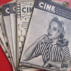 Cine: LOTE 26 REVISTAS CINE MUNDO AÑOS 50 Y 60 REVISTA CINE. Lote 192799972