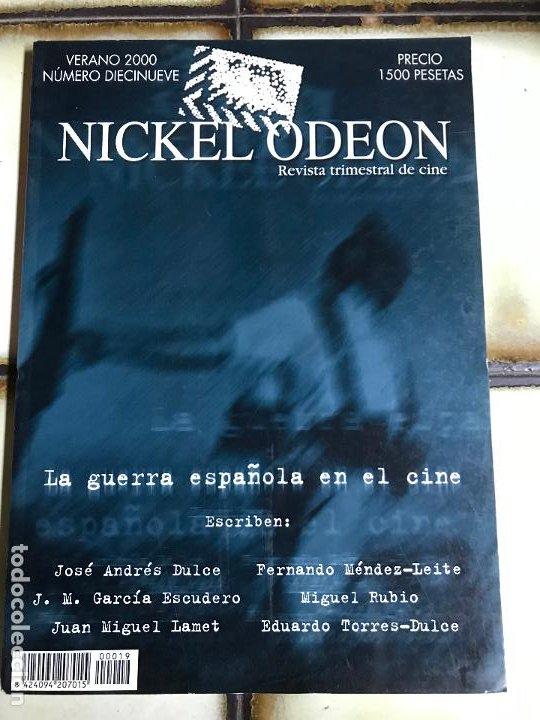 Cine: Colección completa Nickel Odeón. 33 números. Excelente estado. VER FOTOS - Foto 20 - 213869281