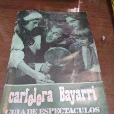 Cine: CARTELERAS BAYARRI, PORTADA DE REX HARRISON, N-601,AÑO 1968. Lote 192966973