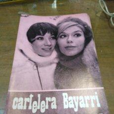 Cine: CARTELERA BAYARRI, PORTADAN DE SONIA BRUNO Y TERESA GIMPER, N-673,AÑO 1969. Lote 192967708