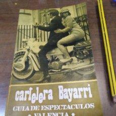 Cine: CARTELERA BAYARRI, PORTADA DE RITA TUSHINGHAM Y RAY BROOKS, N-592,AÑO 1968. Lote 192970017