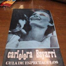 Cine: CARTELERA BAYARRI, PORTADA DE MIA FARROW, N-636,AÑO 1969. Lote 192972991