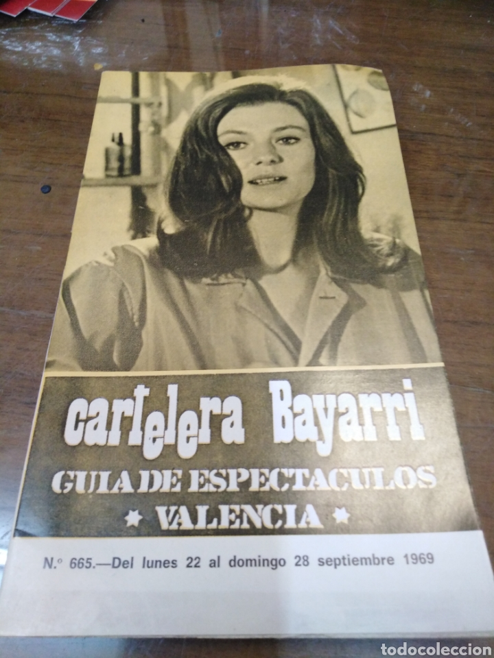 CARTELERA BAYARRI, PORTADA DE JACQUELINE BISSET, N-665,AÑO 1969 (Cine - Revistas - Otros)