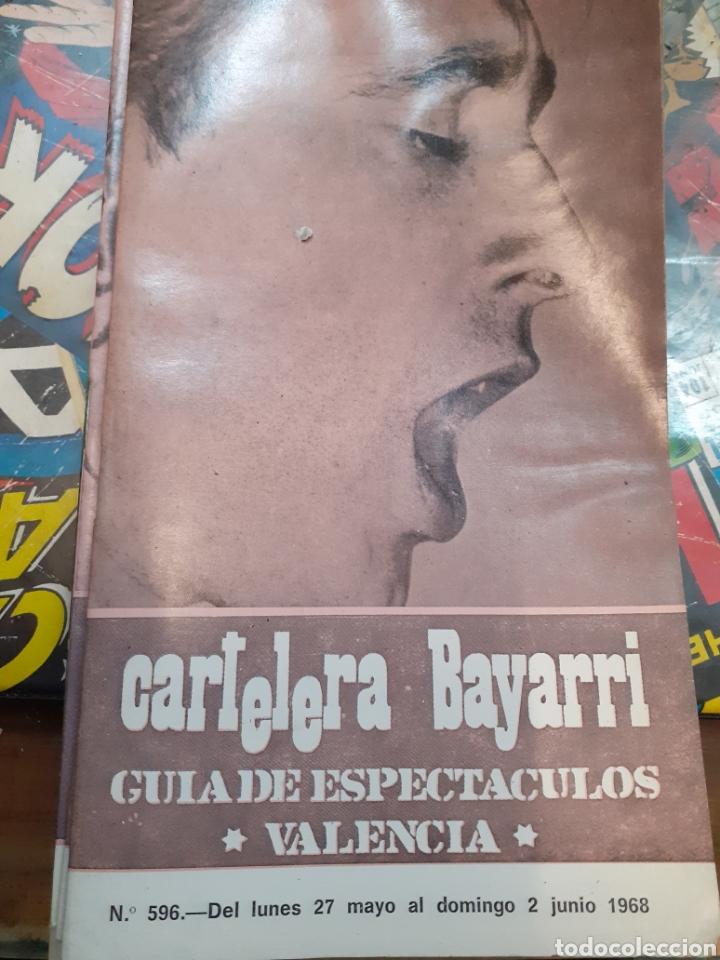 CARTELERA BAYARRI.PORTADA RAIMON. N°596.1968 (Cine - Revistas - Otros)