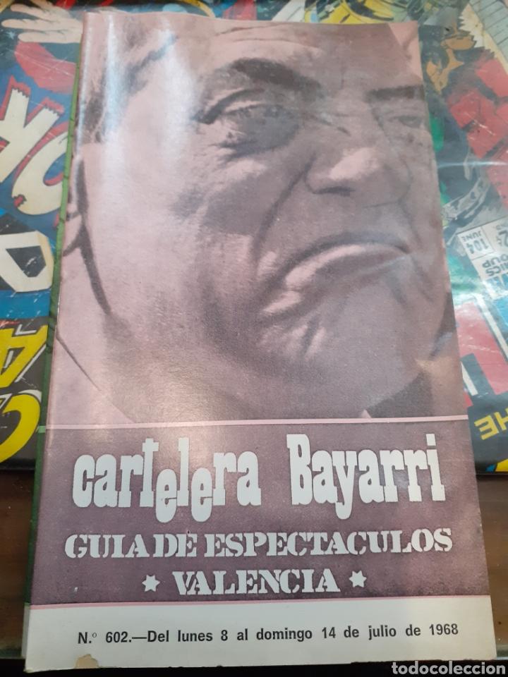 CARTELERA BAYARRI. PORTADA LUIS BUÑUEL. N°602.1968. (Cine - Revistas - Otros)