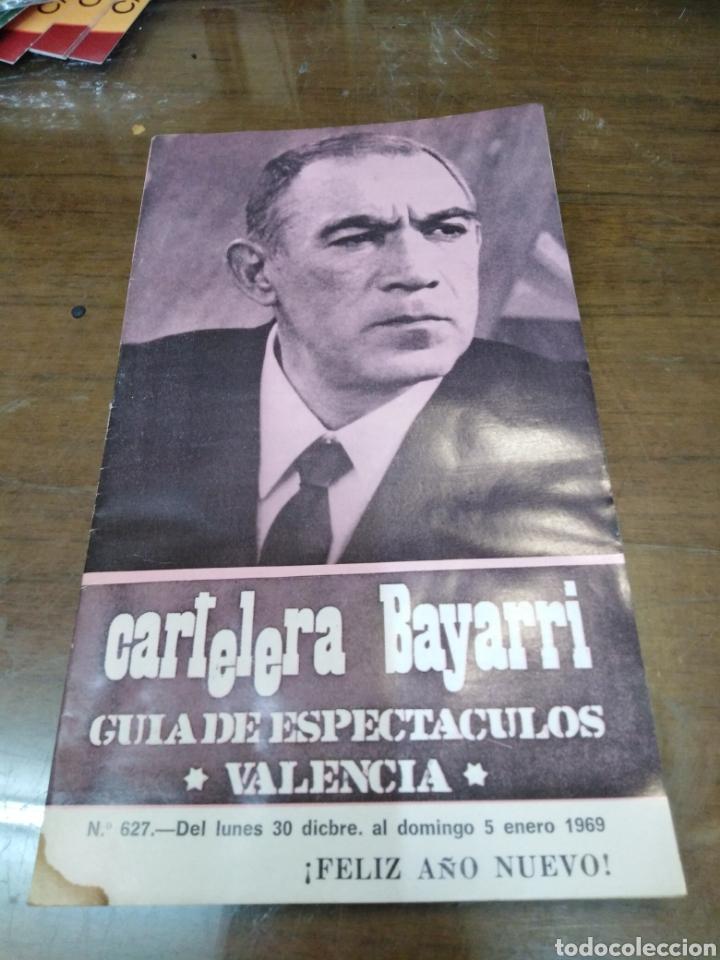 CARTELERA BAYARRI, PORTADA DE ANTHONY QUINN, N-627,AÑO 1969 (Cine - Revistas - Otros)